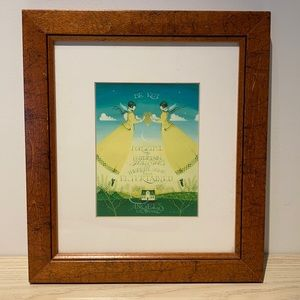 Art frame angels by waterline art Boston